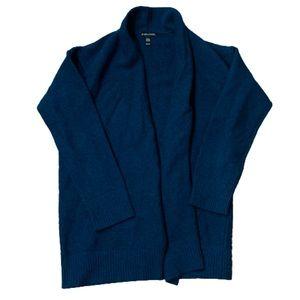 Eileen Fisher   100% Cashmere Deep Teal Cardigan